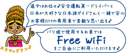 FreeWiFiを使えます