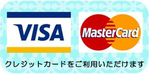 利用可能クレジットカード(VISA/MASTER)