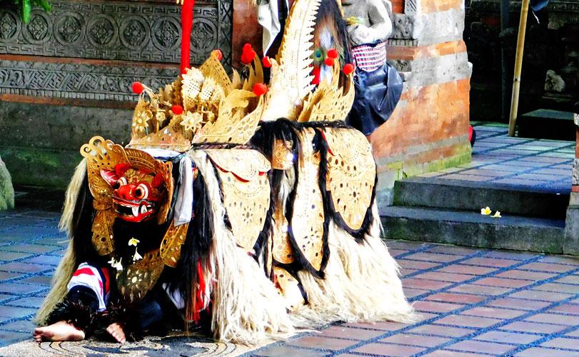 伝統舞踊バロンダンス×人気ウブド観光ツアー