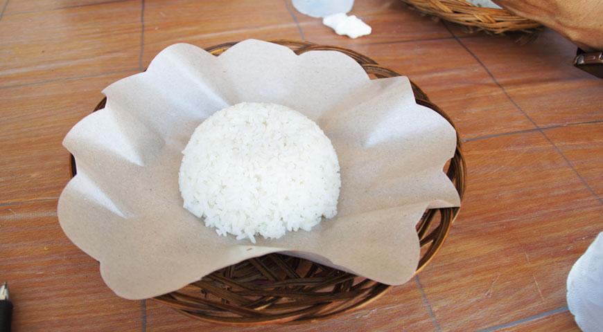 器に盛られた白ご飯