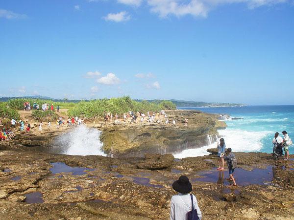 レンボンガン島デビルティアーズの風景