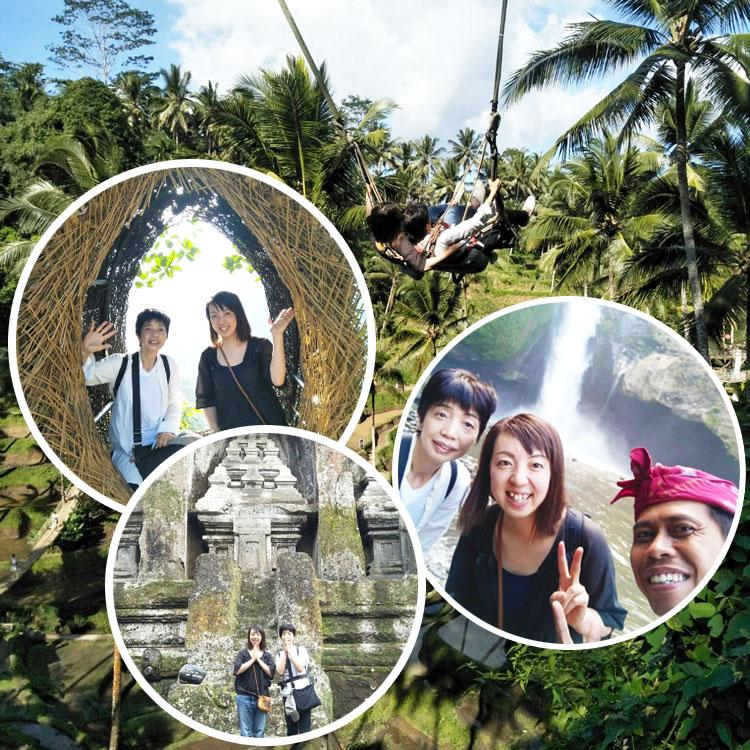 2019/07/13バリ島観光の様子