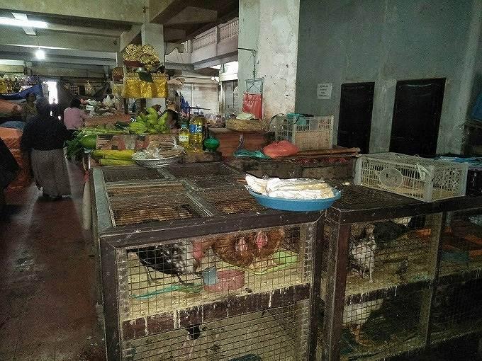 旧バドゥン市場内の様子