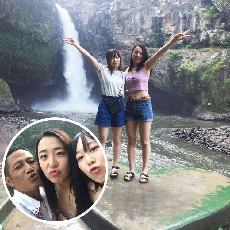 2019/07/22バリ島観光の様子