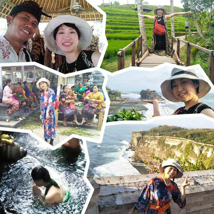 2019/10/08バリ島観光の様子2