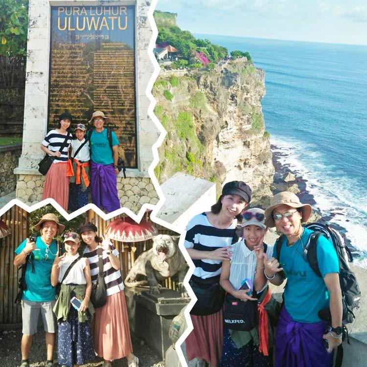 2019/10/13バリ島観光の様子