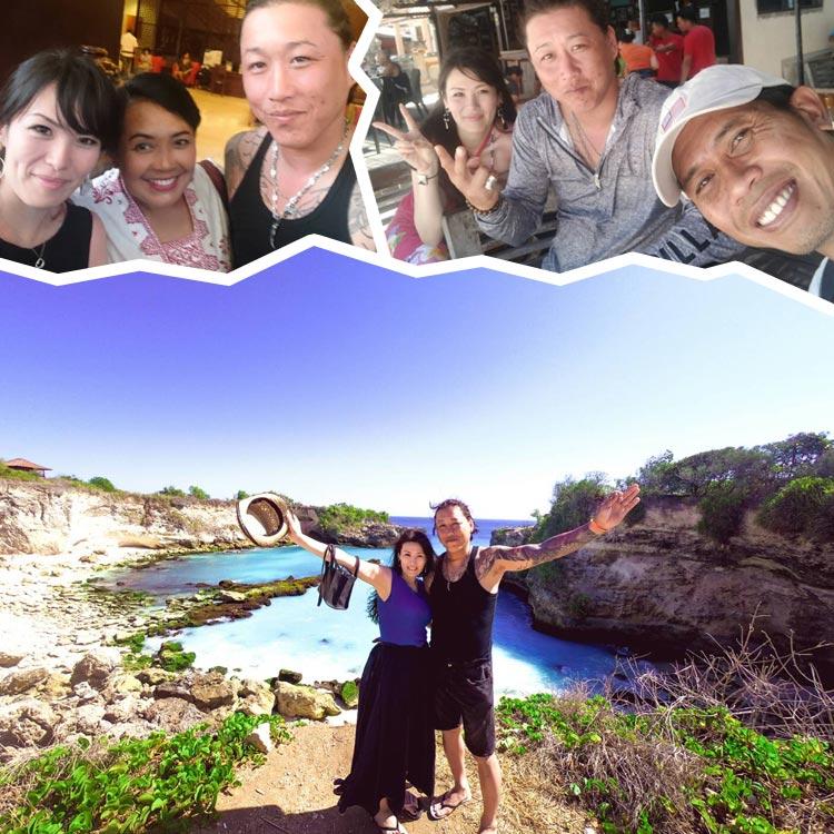 2019/11/06バリ島観光の様子