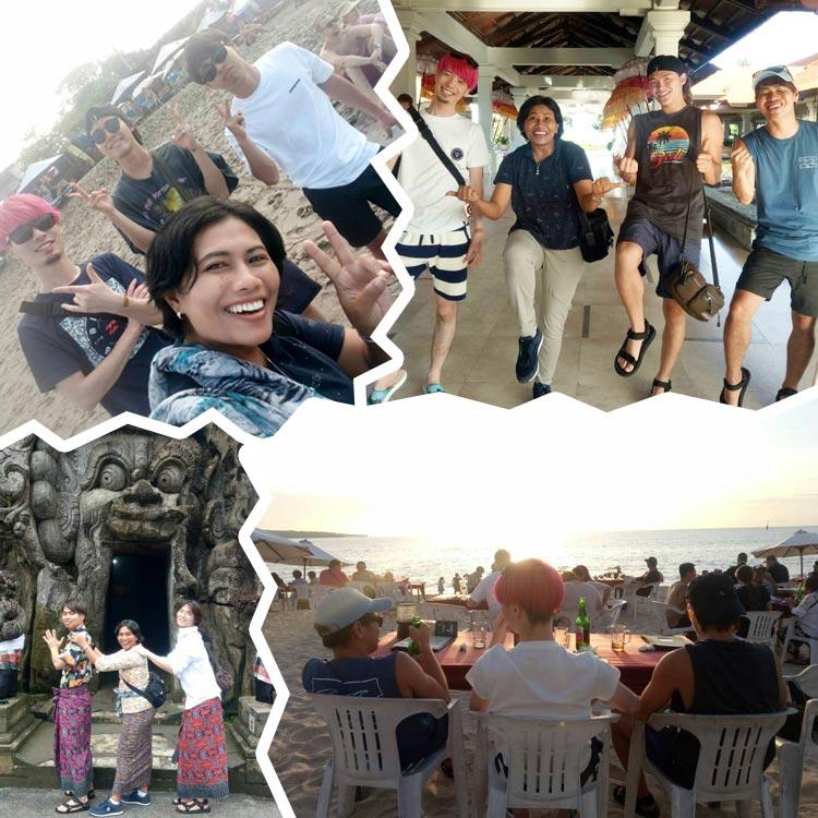 2020/02/01、02/03バリ島観光の様子(F様)